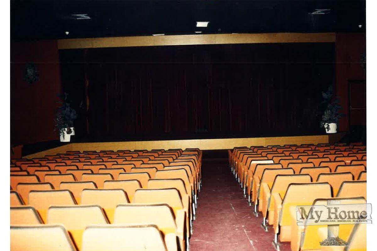 The famous International Cinema of Playa del Inglés