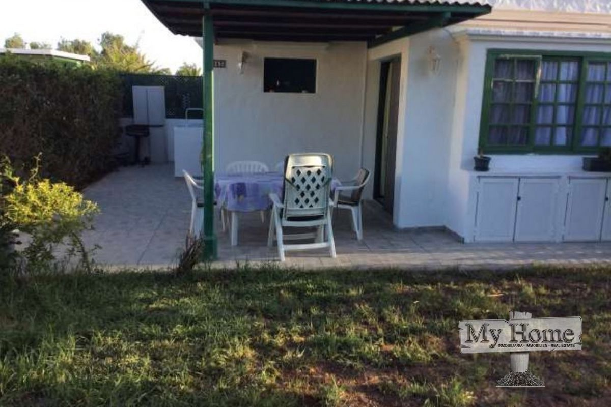 Corner plot bungalow in quiet area of Maspalomas