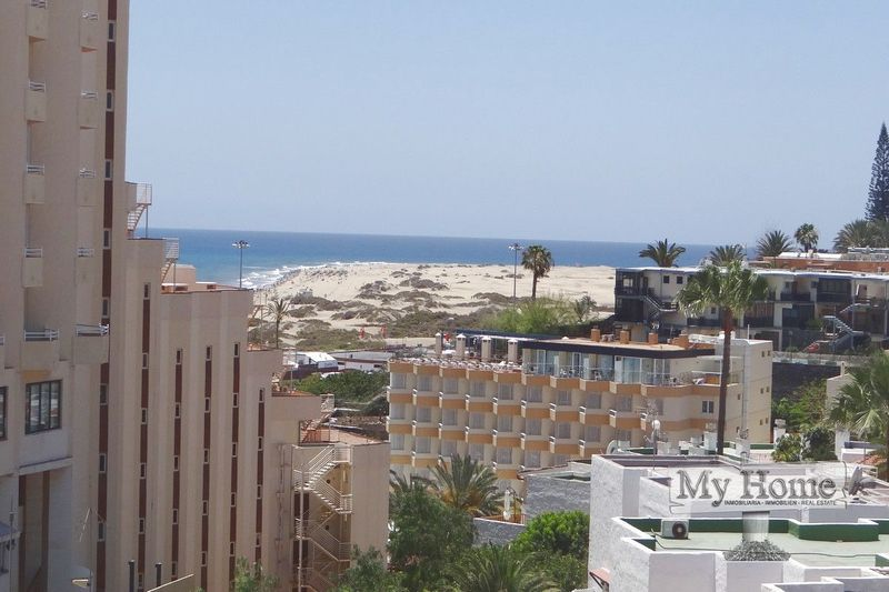Apartment with sea views for rent in Playa del Inglés