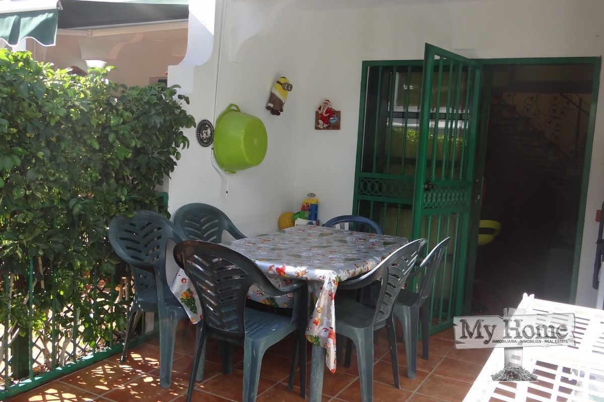 Renovated duplex style bungalow for rent in Maspalomas