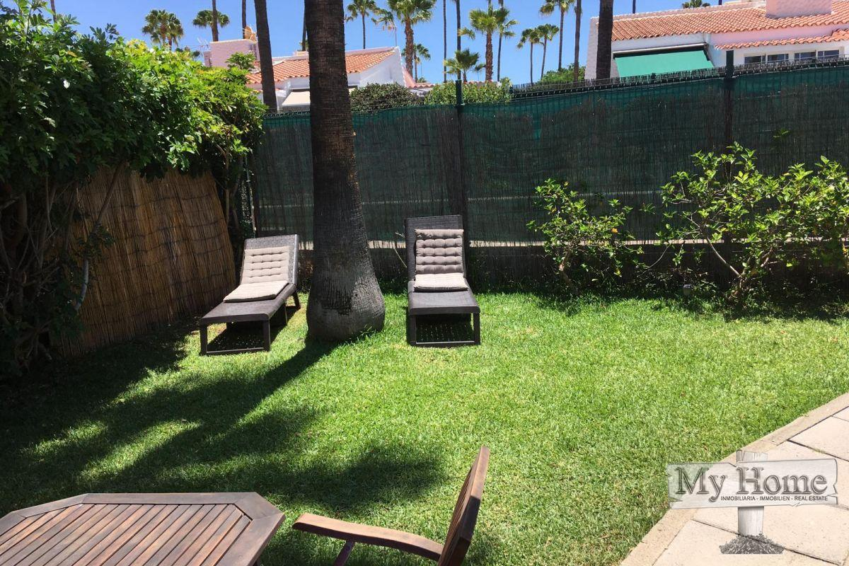 Corner bungalow with large private garden in quiet area of Maspalomas