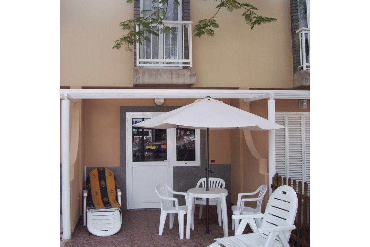 Duplex style bungalow for rent in Maspalomas