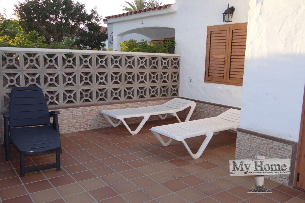 Bungalow with two terraces for rent in Playa del Inglés