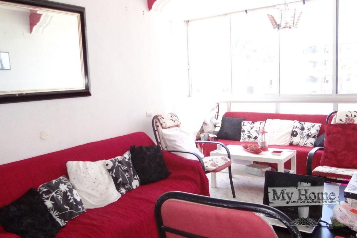 Three bedroom apartment in second line of beach