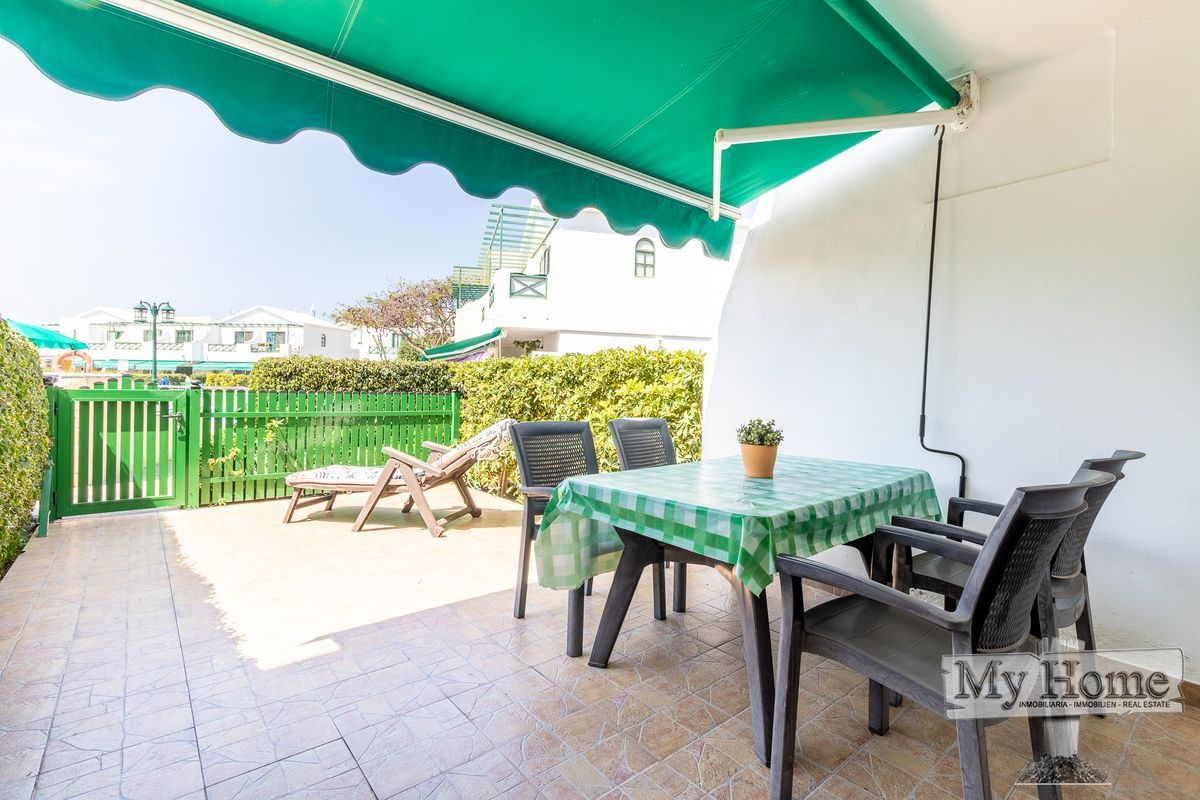 Lovely bungalow duplex style in Maspalomas with air conditioner